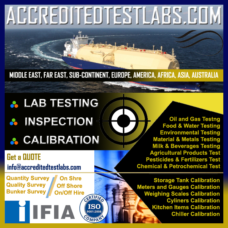 Inspection, Lab Testing, Calibration Services
