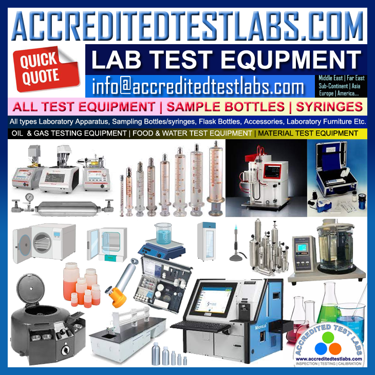 lab test equipment